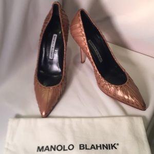 Manolo Blahnik designer heels